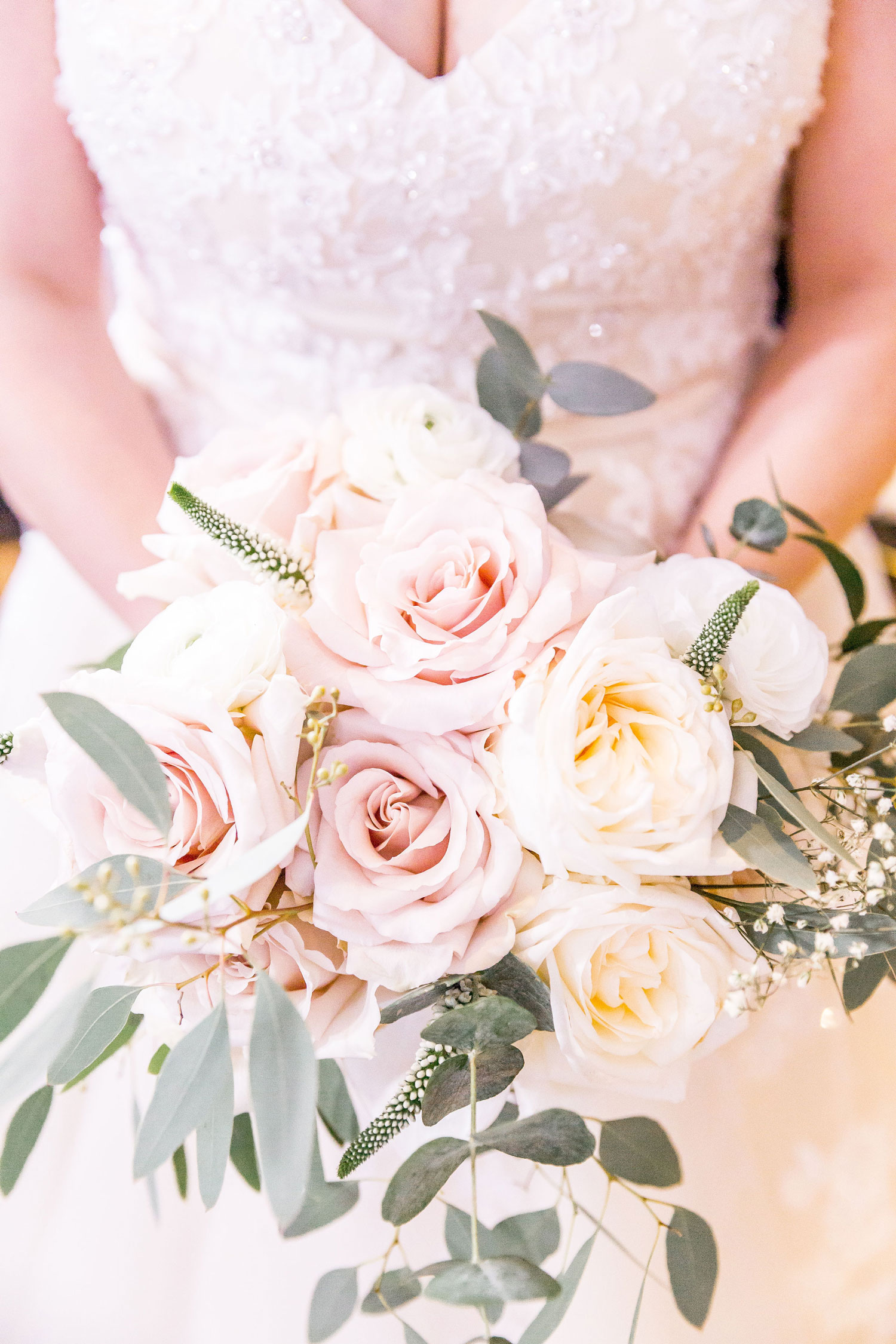 bride holding bridal bouquet wedding florist london