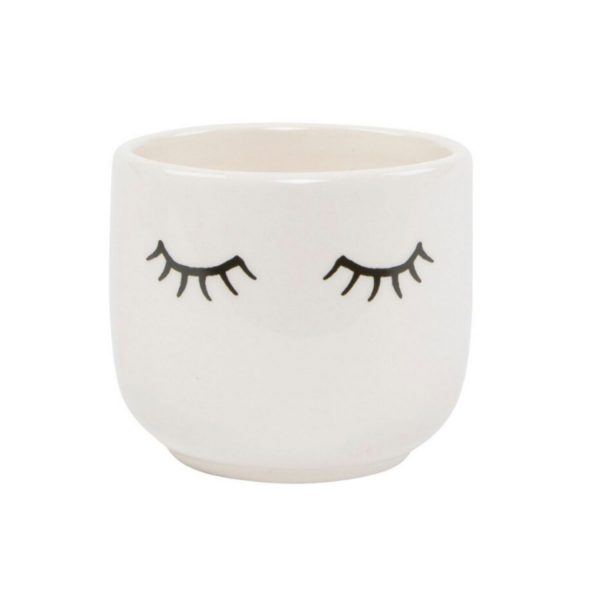mini-eyes-shut-ceramic-plant-pot