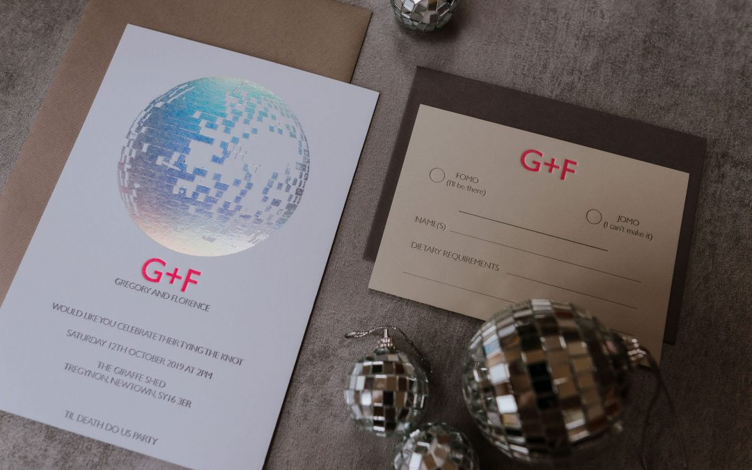 What you need to know when planning your wedding stationery