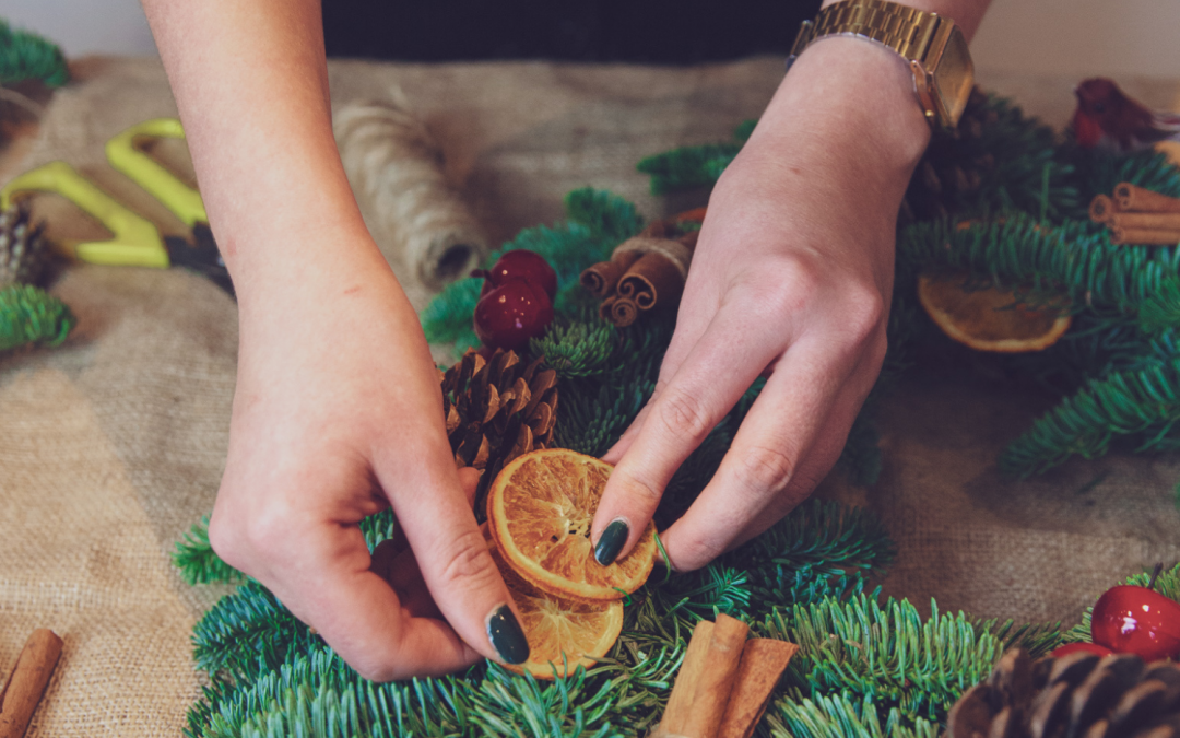 Online Wreath Making Workshop – Grab Yourself a Box of Christmas Cheer!
