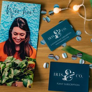 Plant subscription vouchers iris co houseplants