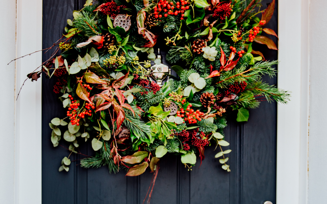 Caring for and Watering your Christmas Wreath