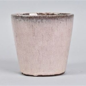 light pink ceramic plant pot