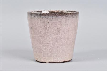 light pink ceramic plant pot